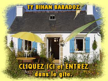 Gite 2 personnes, cheminée en Bretagne