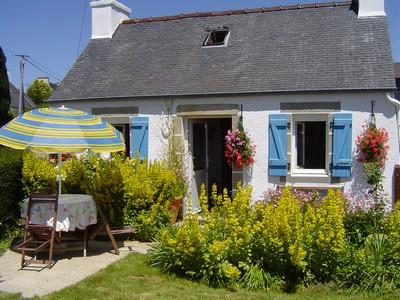 Location vacances finistere gite en centre bretagne ouest proche espaces na - Maison traditionnelle de bretagne ...